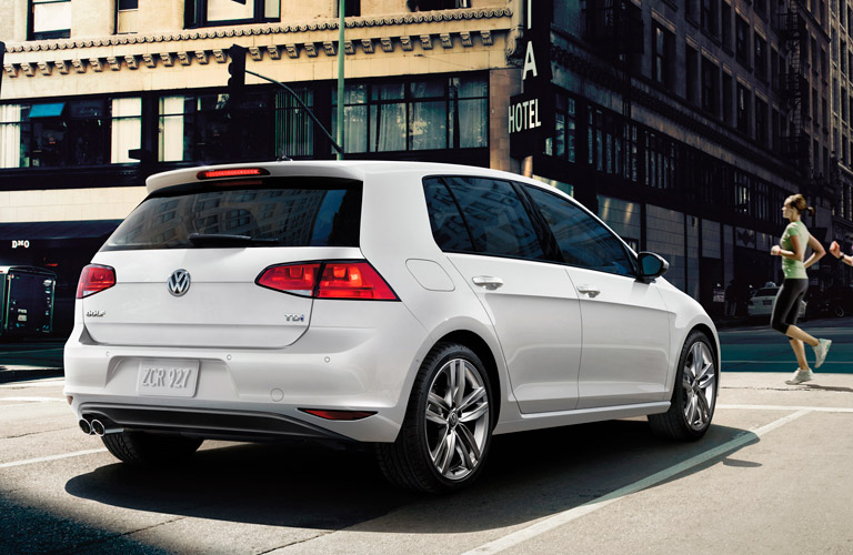Volkswagen Golf 2015 White 2015 Volkswagen Golf White