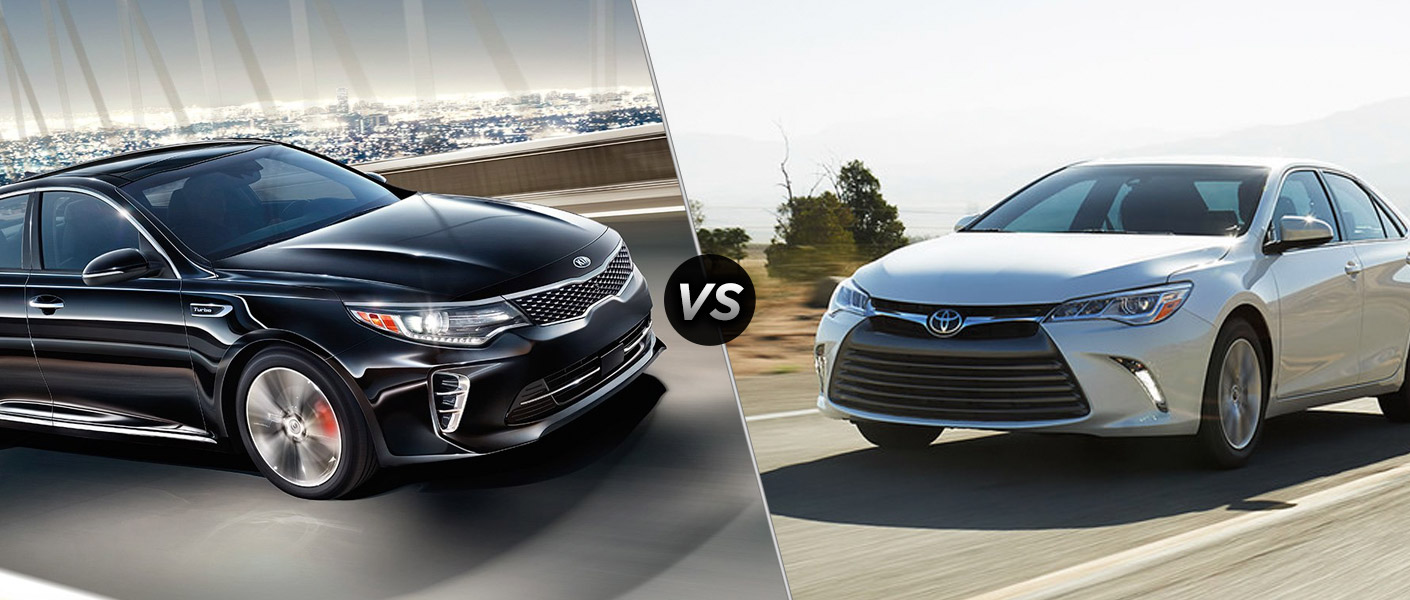 2016 kia optima vs 2016 toyota camry. Black Bedroom Furniture Sets. Home Design Ideas
