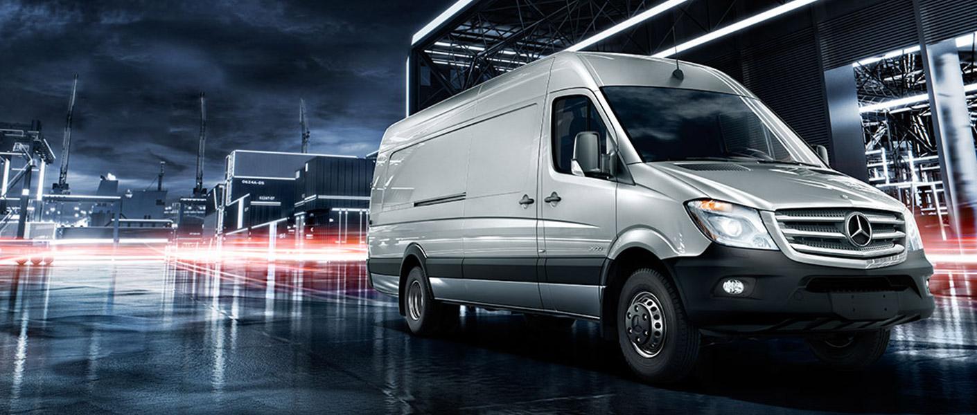 Cargo vans 2016 us autos post for Mercedes benz sprinter rental chicago