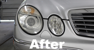 Headlight Polish After