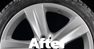 Scraped Wheel Repair After