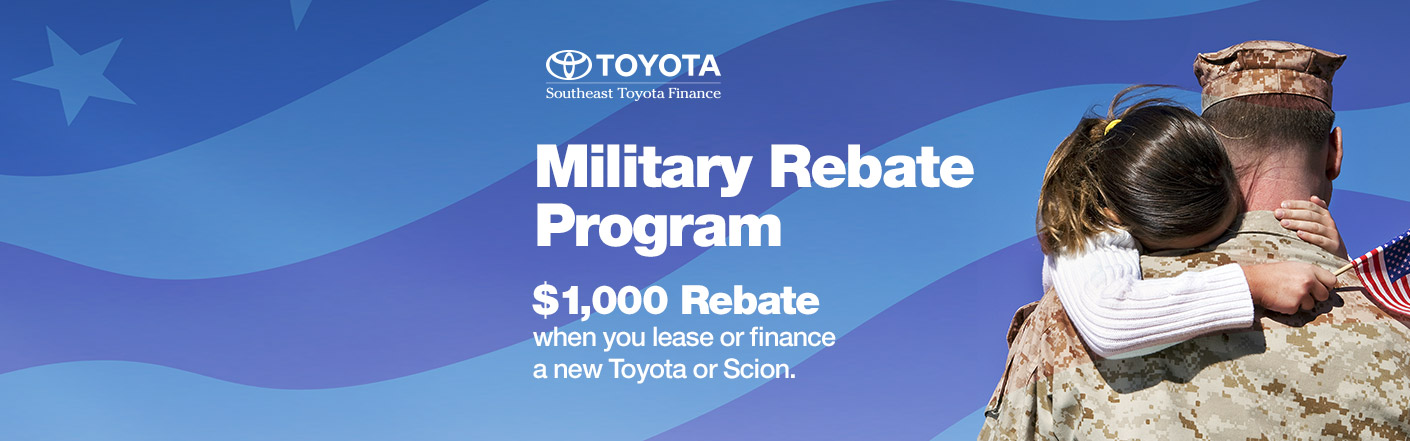 Fred Anderson Toyota of Columbia Military Rebates West