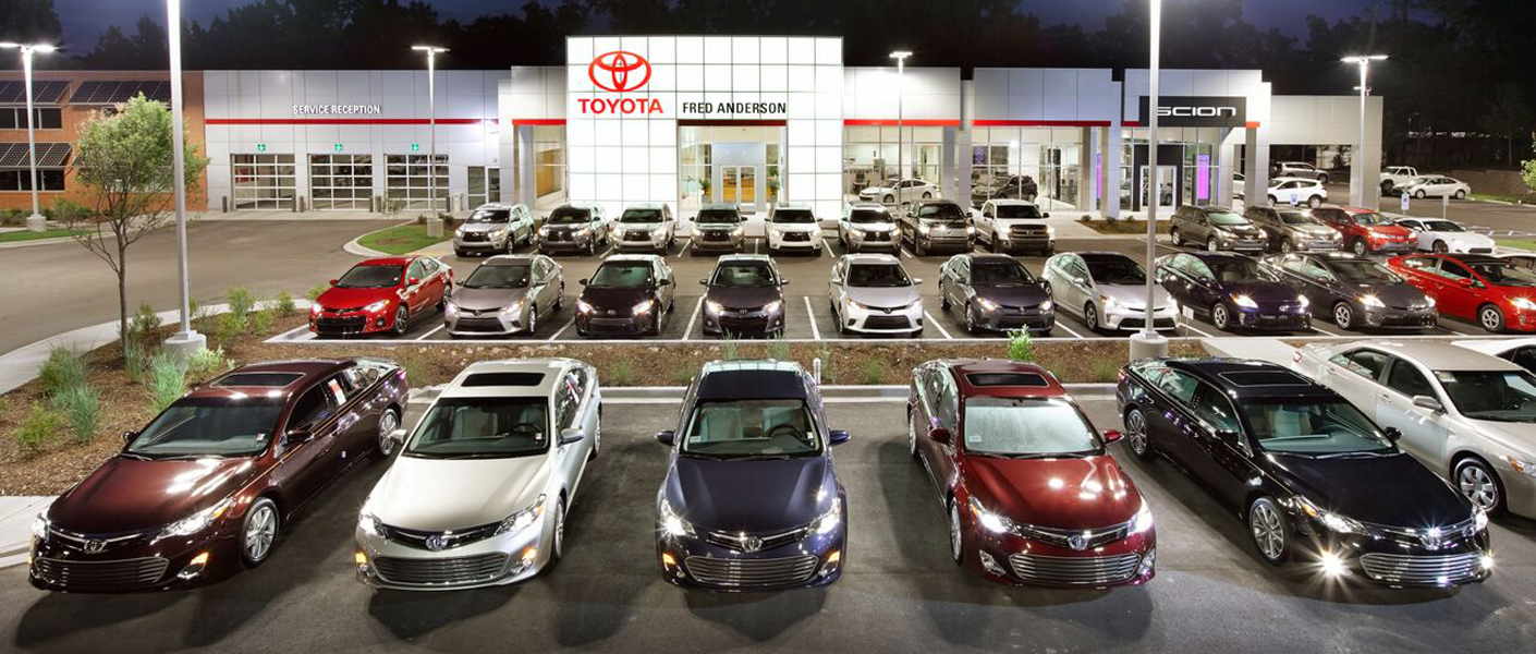 Toyota Dealership In West Columbia Sc