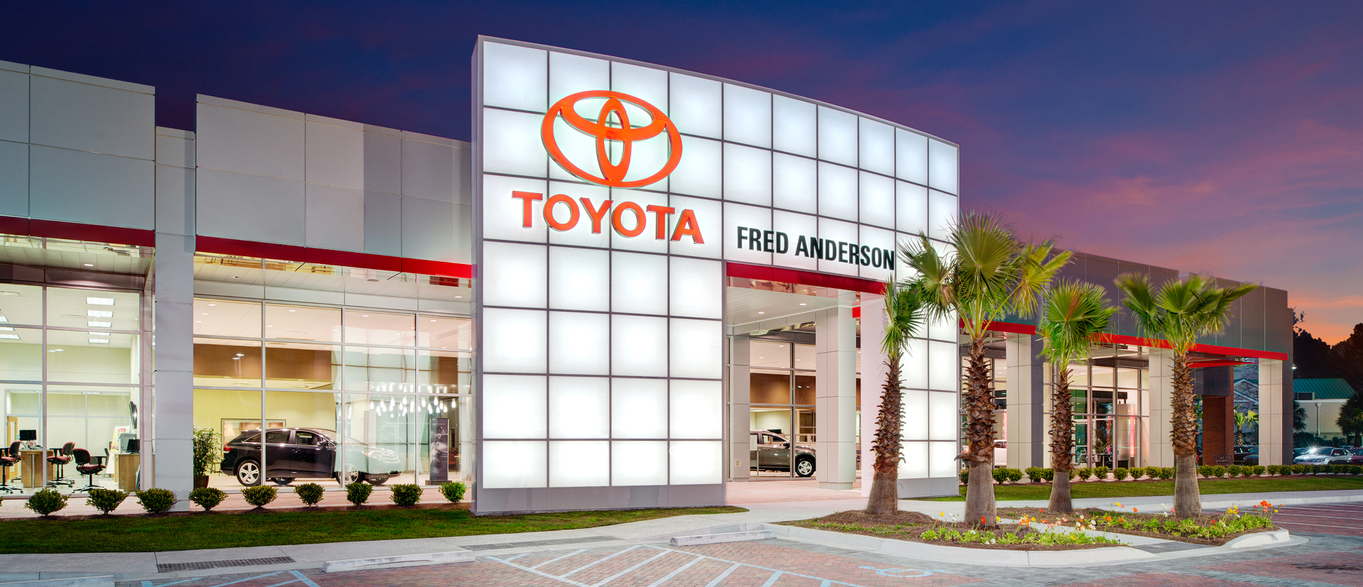 Fred Anderson Toyota New Toyota And Used Car Dealer