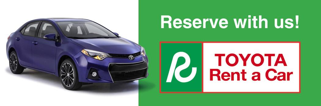 Charleston Toyota Rental