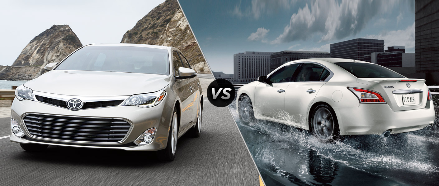 2015 toyota avalon vs 2015 nissan maxima. Black Bedroom Furniture Sets. Home Design Ideas