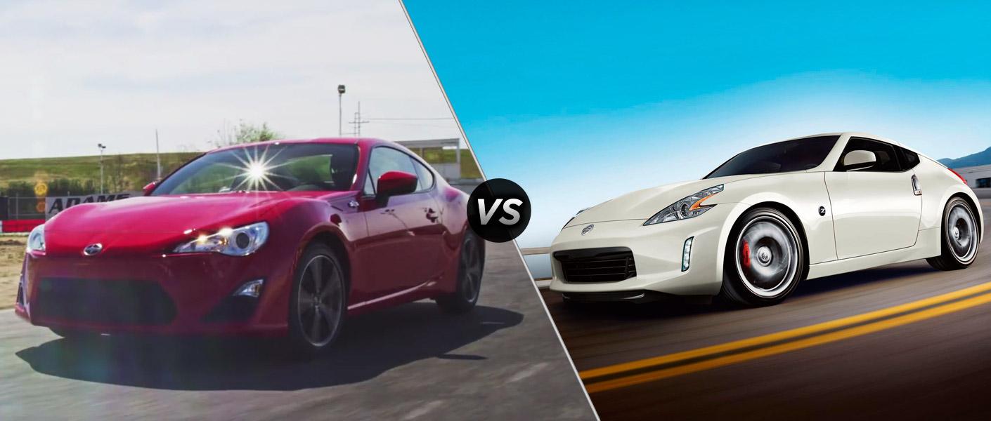 Home 2016 Scion FR-S vs 2016 Nissan 370Z