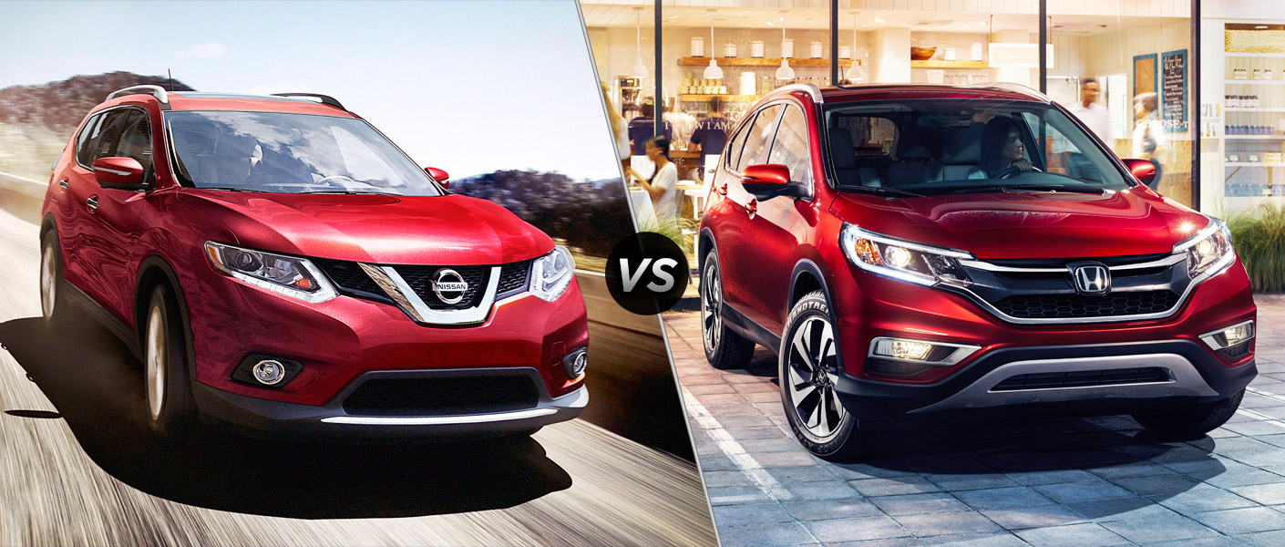 2016 nissan rogue vs 2016 honda cr v. Black Bedroom Furniture Sets. Home Design Ideas