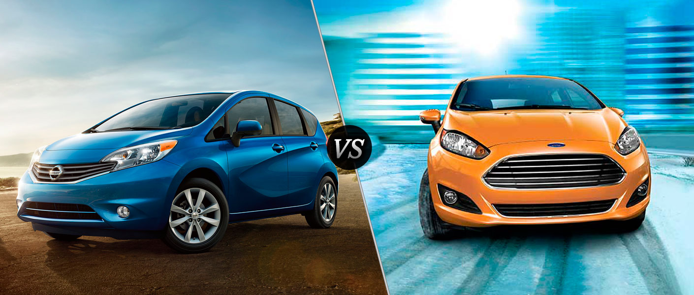 2016 nissan versa note vs 2016 ford fiesta. Black Bedroom Furniture Sets. Home Design Ideas