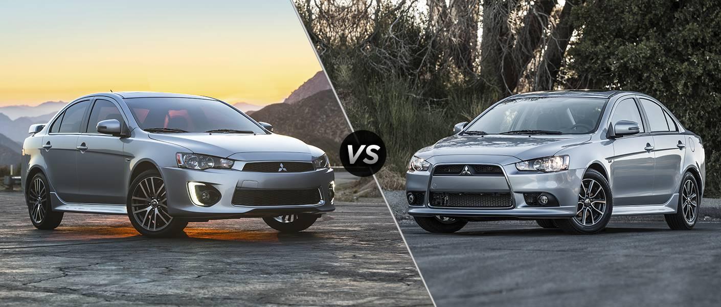 2016 Mitsubishi Lancer vs 2015 Mitsubishi Lancer