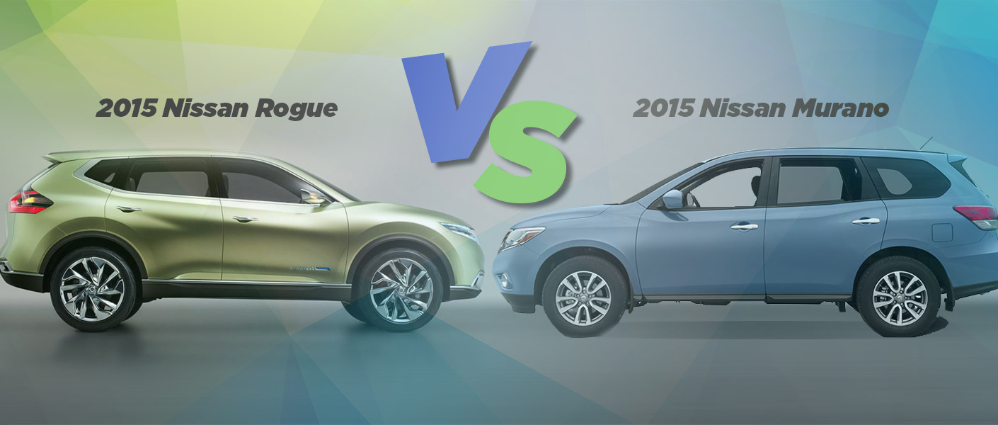 Nissan Rogue Compared To Murano