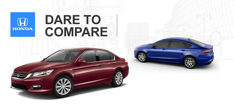 2014 Honda Accord vs. 2014 Ford Fusion