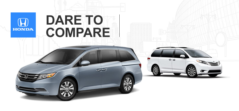 2014 honda odyssey vs 2014 toyota sienna. Black Bedroom Furniture Sets. Home Design Ideas