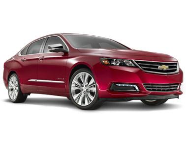 2014 Chevy Impala front quarter