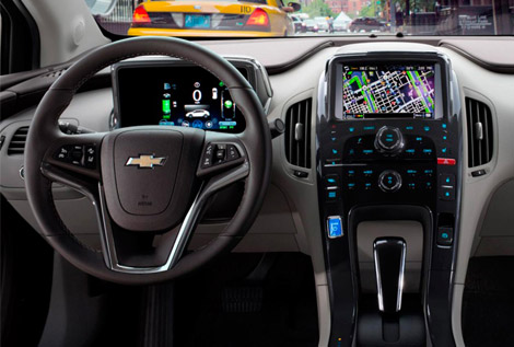 2014 Chevy Volt in Naperville, IL interior