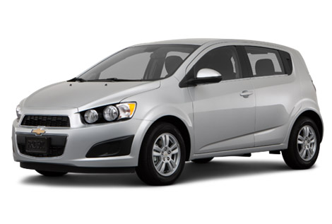 2014 Chevy Sonic front