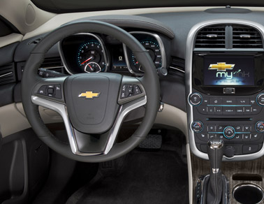 2014 Chevy Malibu Interior