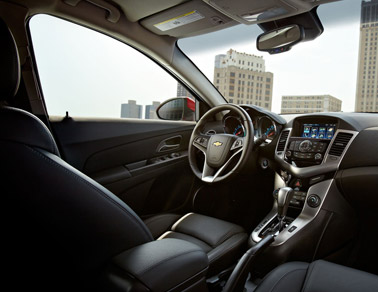 2014 Chevy Cruze interior