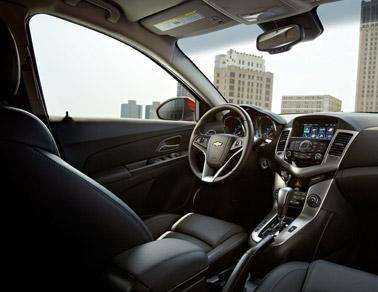 2014 Chevy Cruze interior
