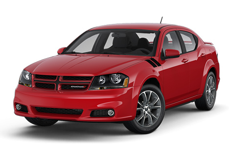 2014 Dodge Avenger Design