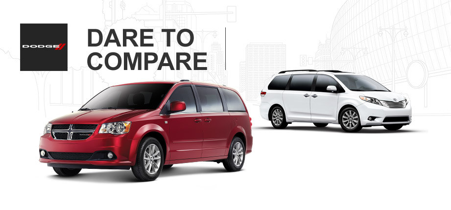 2014 dodge grand caravan vs 2014 toyota sienna. Black Bedroom Furniture Sets. Home Design Ideas