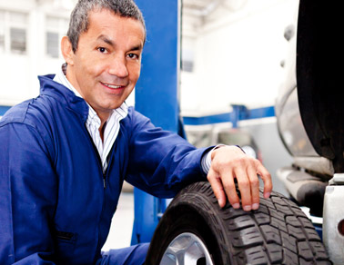 Auto Service Repair Stock Photo