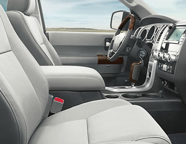 2014 Toyota Sequoia Truro, NS interior