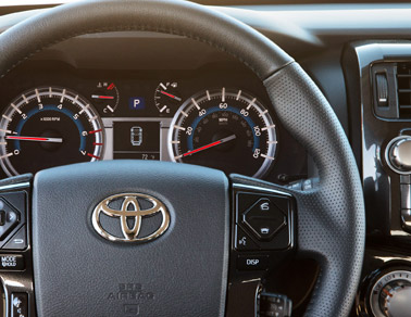 2014 Toyota 4Runner interior