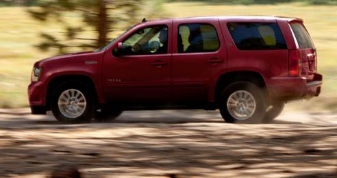 The 2014 Chevy Tahoe Hybrid Will Be Completely Redesigned