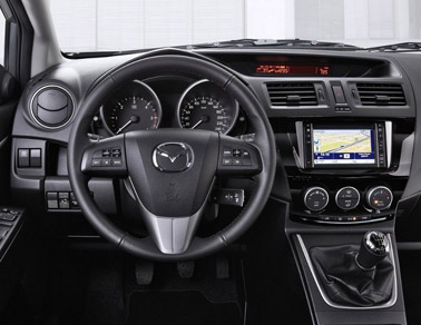 2014 Mazda2 interior