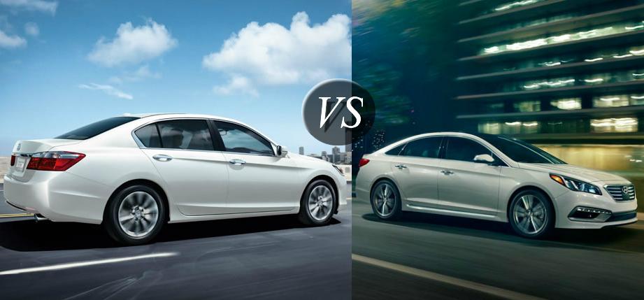 2015 hyundai sonata vs autos post for Honda vs hyundai
