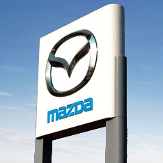 Mazda Sign