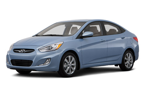 2014 Hyundai Accent exterior