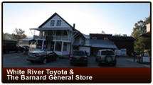 White River Toyota & The Barnard General Store: Restore the Store