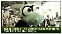 Heritage Automotive Group Presents Kids Eat Free Thursdays at the Vermont Lake Monsters