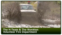 The H-Team & the Monkton Volunteer Fire Department: The Monkton Mud Bog