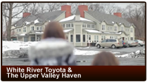 White River Toyota & The Upper Valley Haven