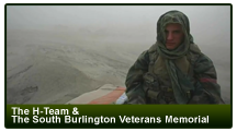 The H-Team & the South Burlington Veterans Memorial