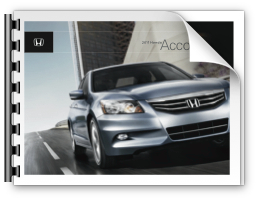 2011 Honda Accord Brochure
