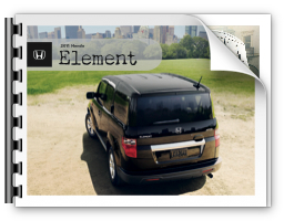 2011 Honda Element Brochure