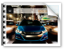2011 Honda Insight Brochure
