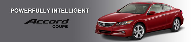 2012 Honda Accord Coupe Banner