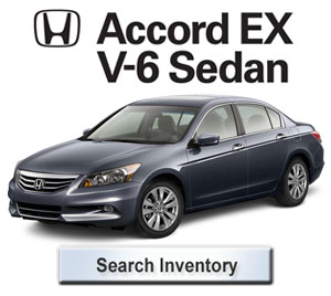 2012 Honda Accord EX V6 Sedan for sale
