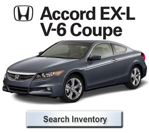2012 Honda Accord EXL V6 Coupe for sale