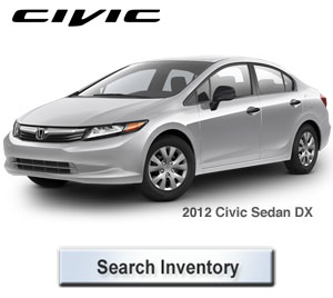 2012 Honda Civic DX Sedan for Sale