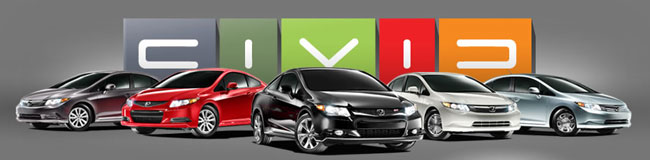 Honda Civic Sedan, Coupe, Hybrids