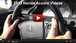 2013 Honda Accord Videos