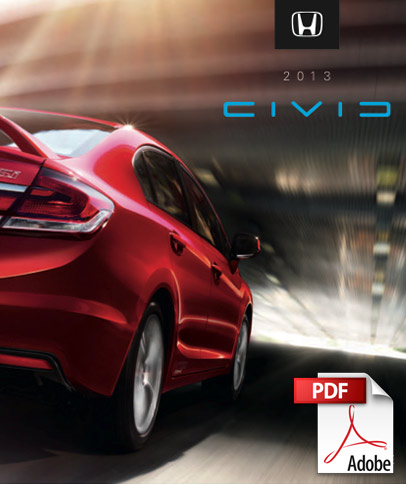 2013 Honda Civic brochure