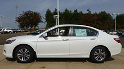 2014 Honda Accord LX White