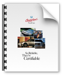 Honda Certified Program Brochure